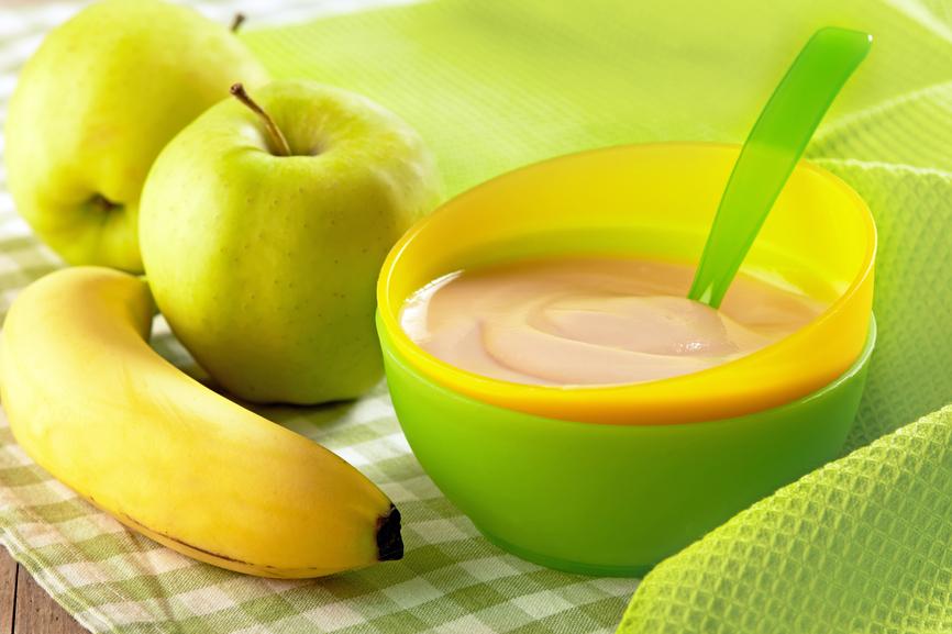 Primeros alimentos sólidos para bebés