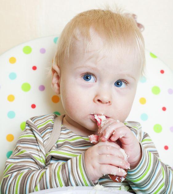 alimentación solida para bebes