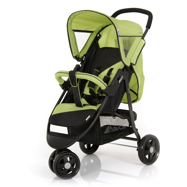Carrito de bebé deportivo verde