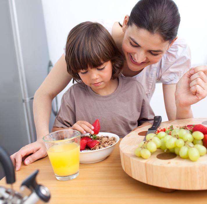 Desayuno especial para los días de colegio