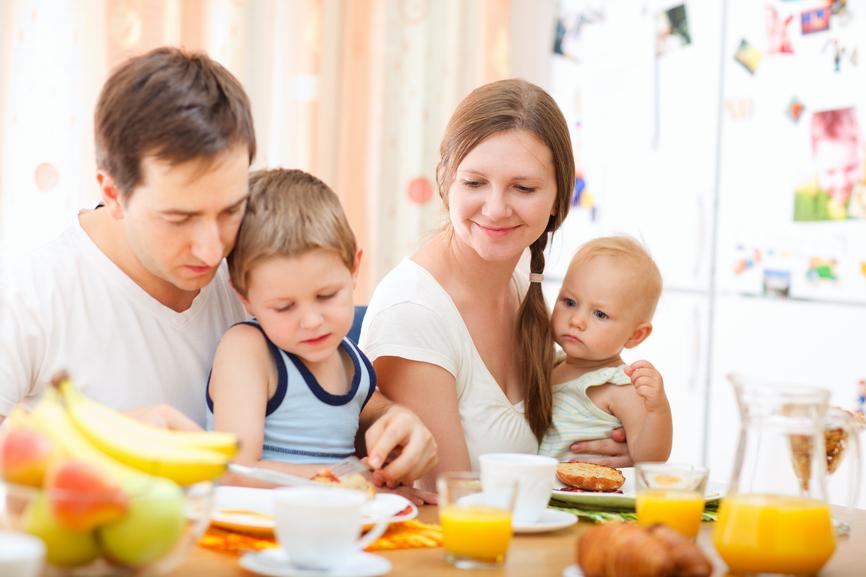 Desayuno en familia para los fines de semana