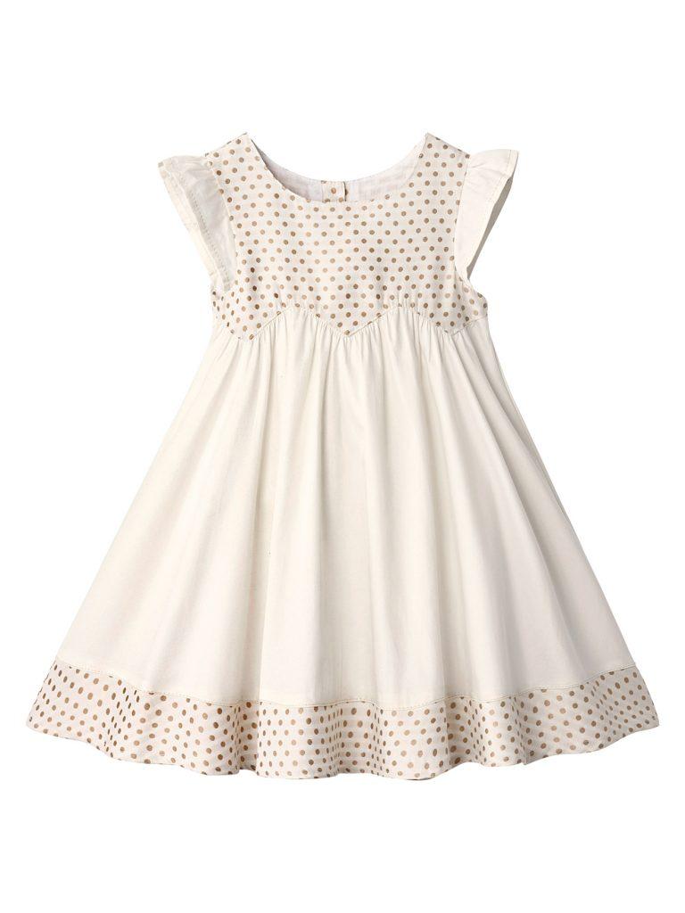 Vestido clarito para niña