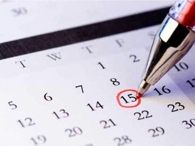 Calendario de fertilidad en mujeres