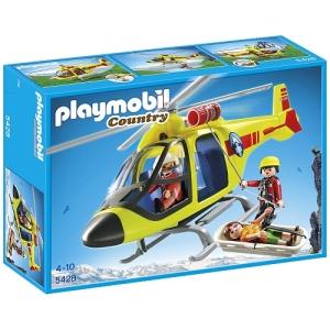 Helicóptero de rescate de Playmóbil