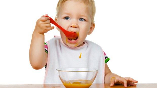 Trucos para que los niños coman verduras - Papillas