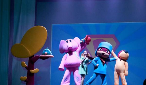 Pocoyó y sus amigos, el musical