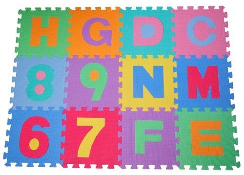 Afombras de juego para bebés con letras