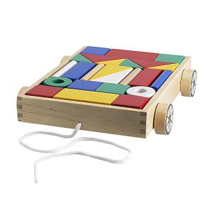 Juguetes educativos Ikea de madera
