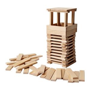 Juego de construcción de madera
