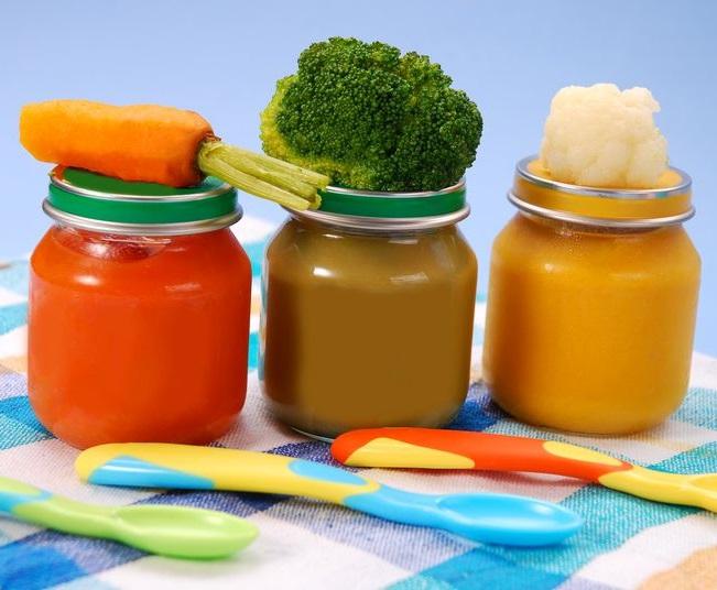 Dieta vegetariana para bebés