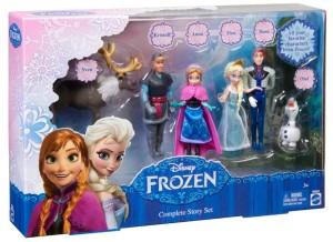 Set de muñecos Frozen