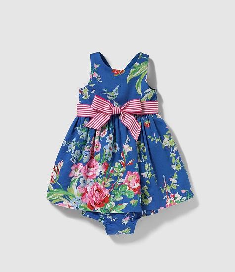 Catálogo de El Corte Inglés de vestidos para niñas