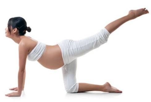 Yoga para embarazadas sin riesgos