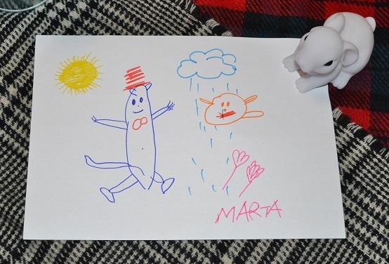 Dibujo del libro El Gato Garabato