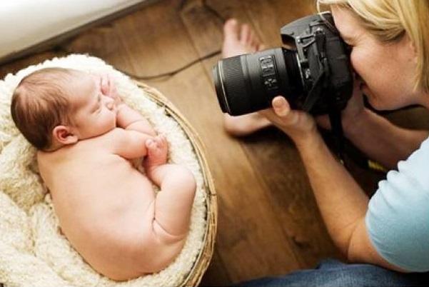 Hacer fotos bonitas a un bebé