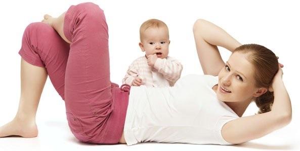 Cómo adelgazar después del parto
