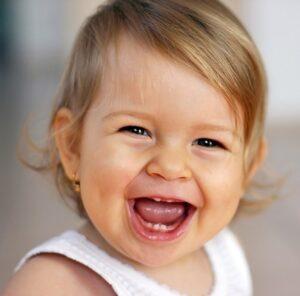 Golpes en los dientes de los niños