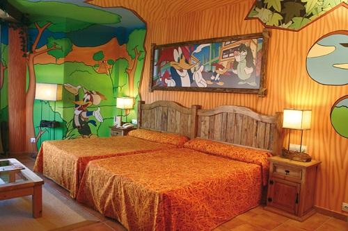 Hoteles temáticos para niños en Port Aventura