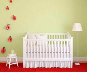 decorar una habitación para un bebé