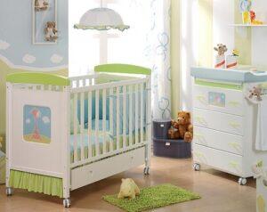 decorar una habitación para un bebé recién nacido