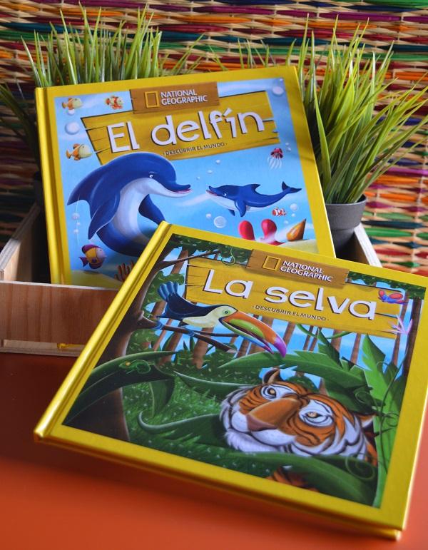 Libros National Geographic para niños - Descubrir el Mundo