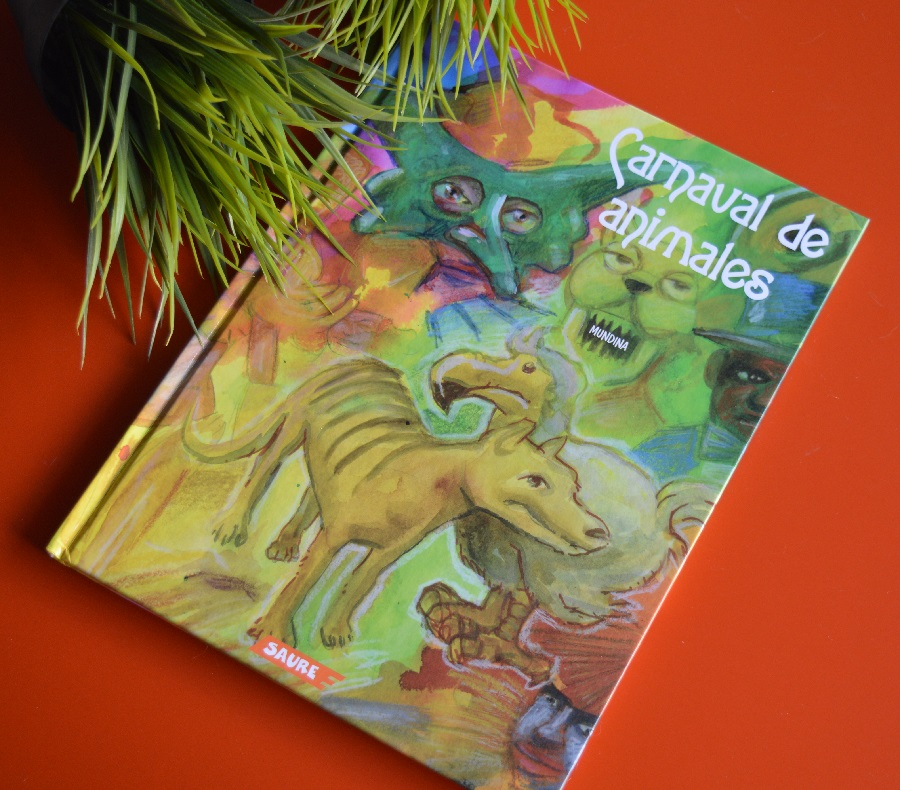 Carnaval de animales de Mundina, un libro infantil original