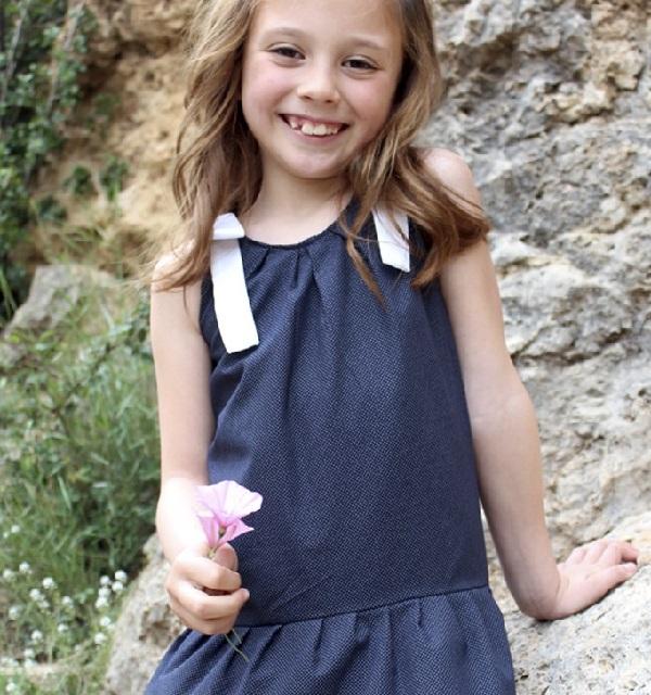 Catálogo de moda primavera verano niña
