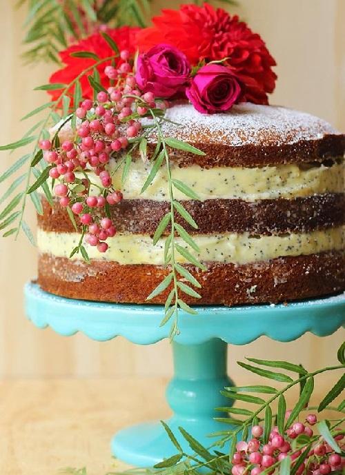 Naked cake de crema