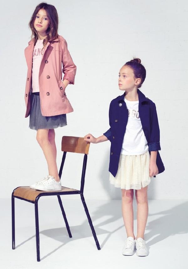 Catálogo de ropa para niños Mango 2015
