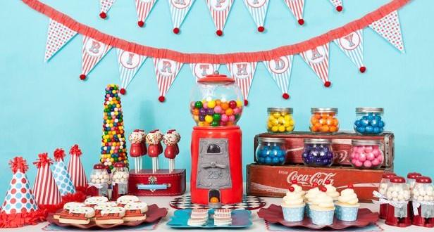 C mo montar una candy bar para ni os el blog de tu beb - Decoracion para cumpleanos infantiles en casa ...