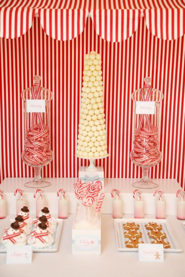 Candy bar para niños