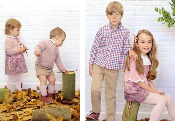 Moda infantil otoño invierno