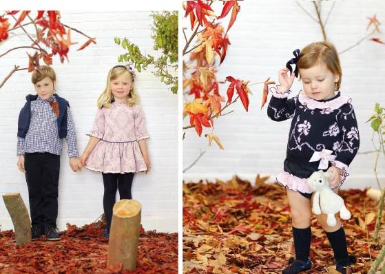 Ropa de otoño invierno para niños