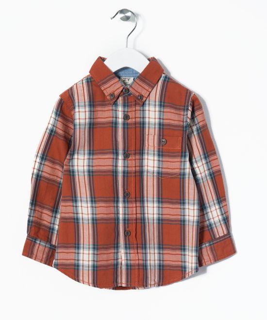 Camisa naranja bebé niño