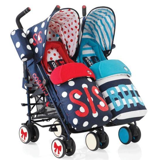 Cochecitos para bebés gemelares