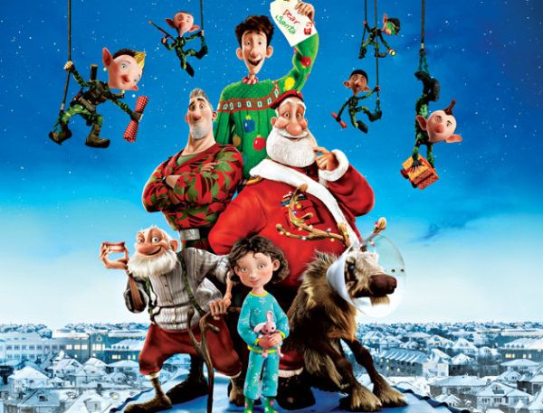 Mejores películas de navidad para niños - Arthur Christmas
