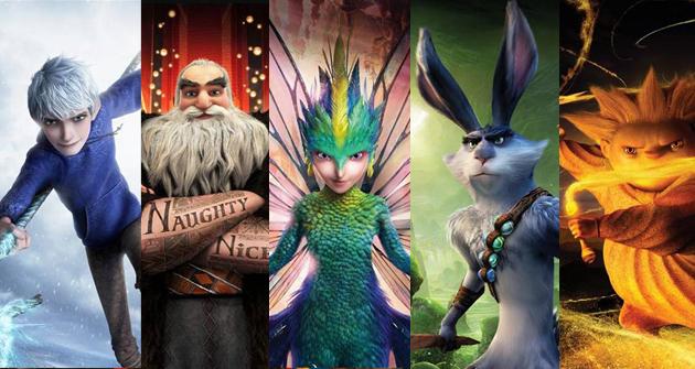 Películas de navidad para niños - El origen de los Guardianes