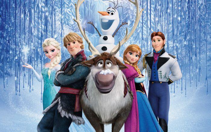 Peliculas para niños en español de navidad - Frozen