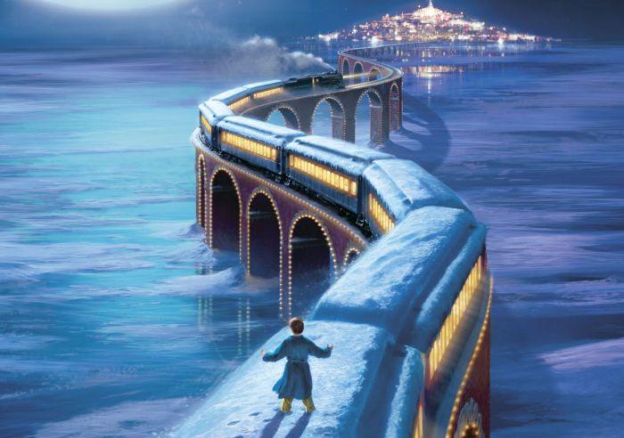 Películas para niños en Navidad - Polar Express
