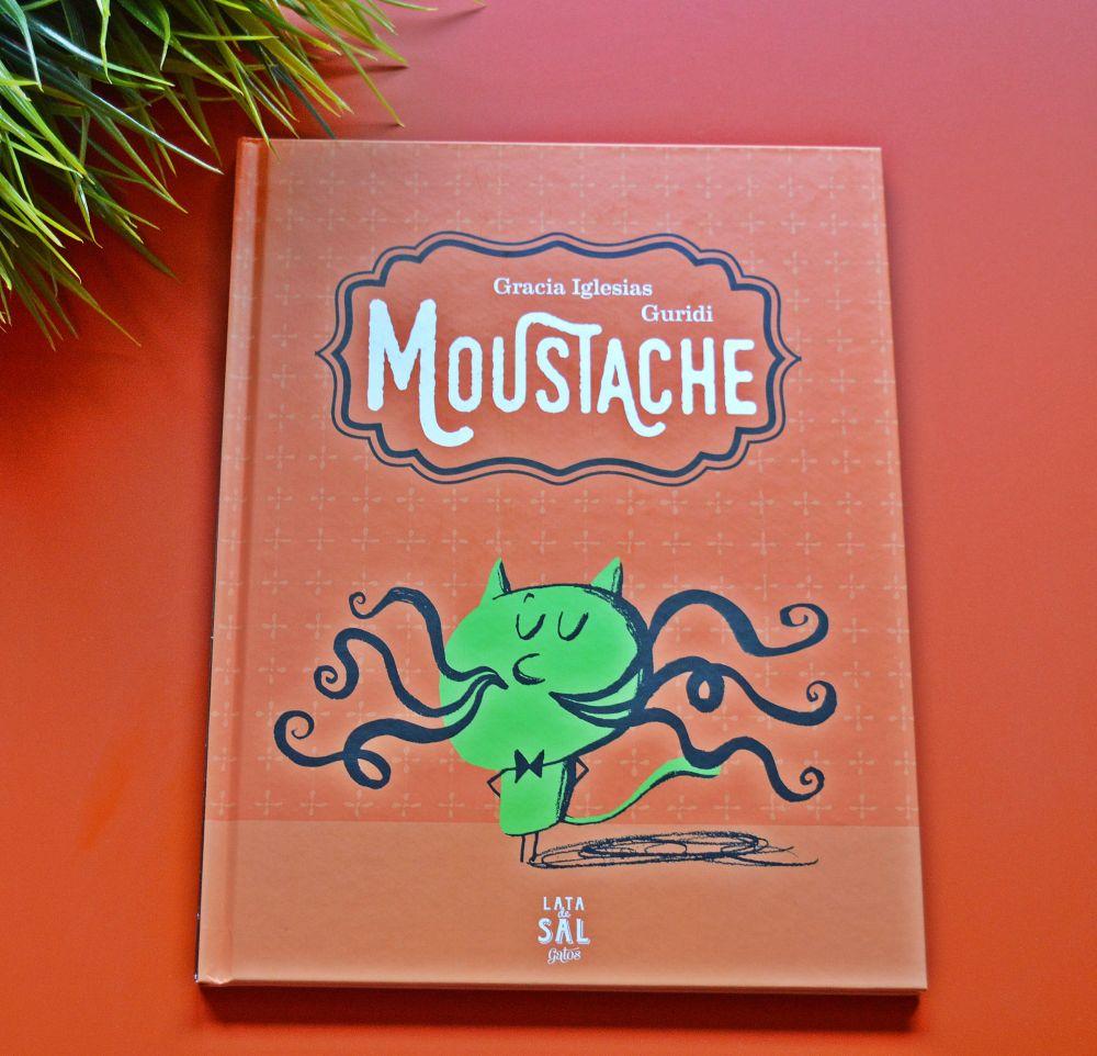 Libros para niños , Moustache