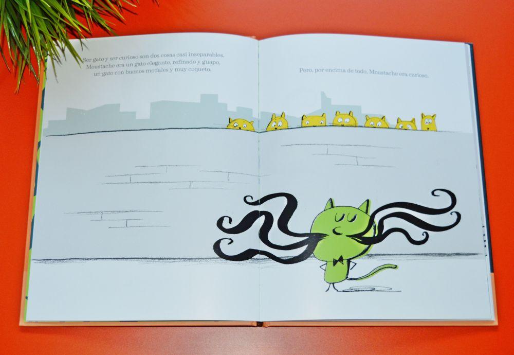 Libros para niños pequeños; Moustache - Lata de sal