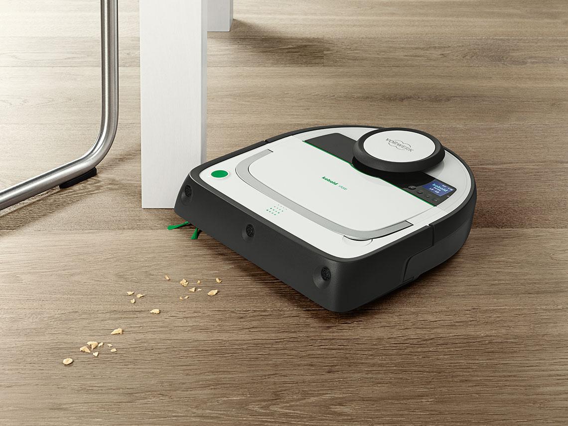 Robot aspirador Kobold VR200; Una Limpieza Inteligente!
