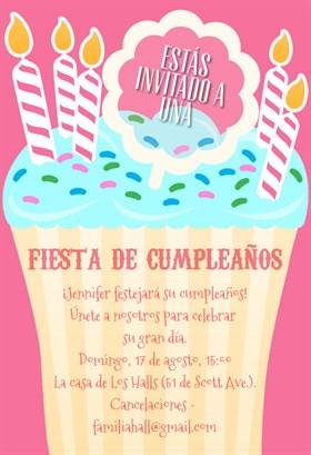 Invitaciones de cumplea os para imprimir gratis ebdtb - Modelos de tarjetas de cumpleanos para adultos ...