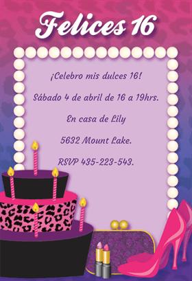 Invitaciones de cumpleaños Monster High