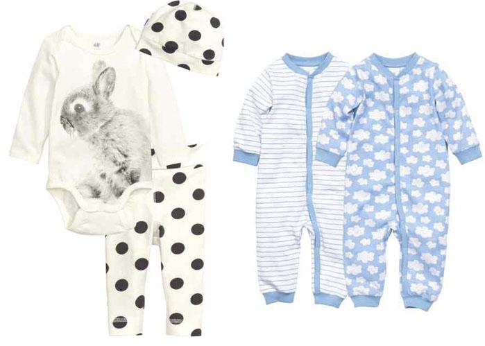 Moda para Bebés Recién Nacidos; Nueva colección de H&M