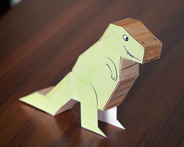 Recortables de dinosaurios para imprimir