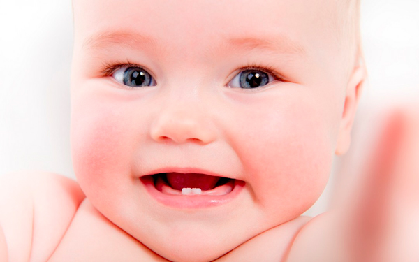 Salida dientes bebe