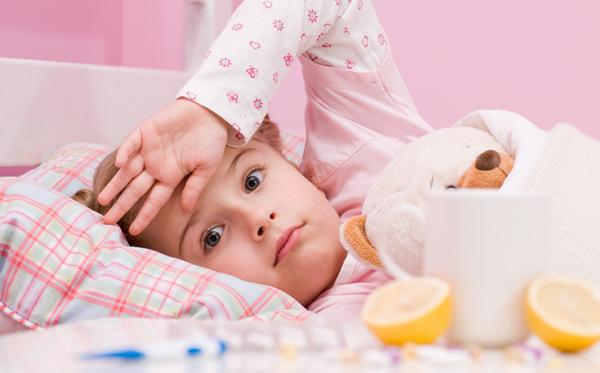 Escarlatina en niños