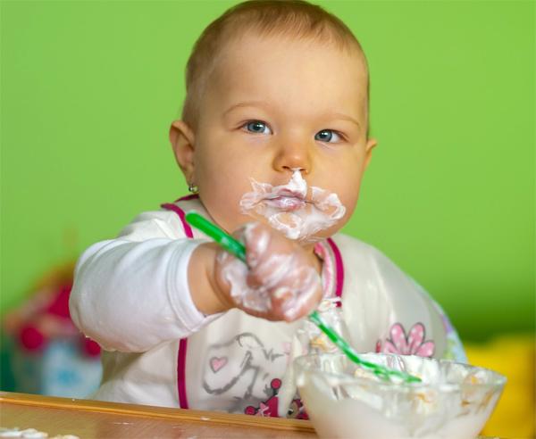 Alimentación sana bebé