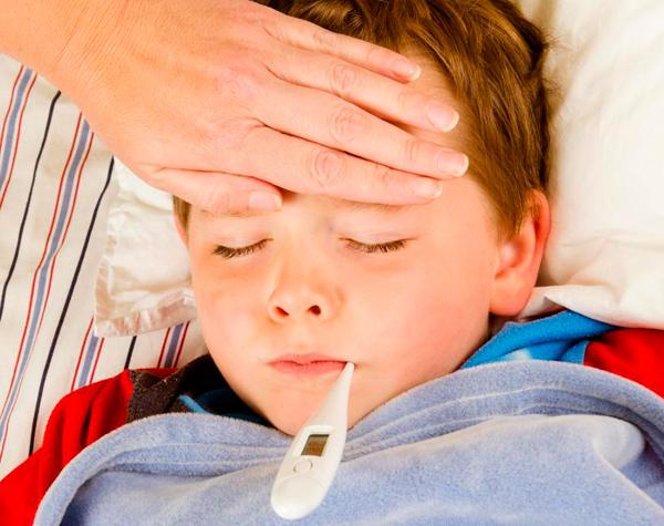 exantema vírico en niños